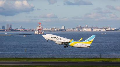 JA12AN - Air Do - Hokkaido International Airlines Boeing 737-700