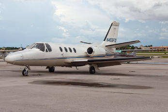 N455FD - Private Cessna 501 Citation I / SP