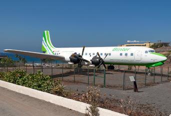 EC-BBT - Binter Canarias Douglas DC-7C Seven Seas