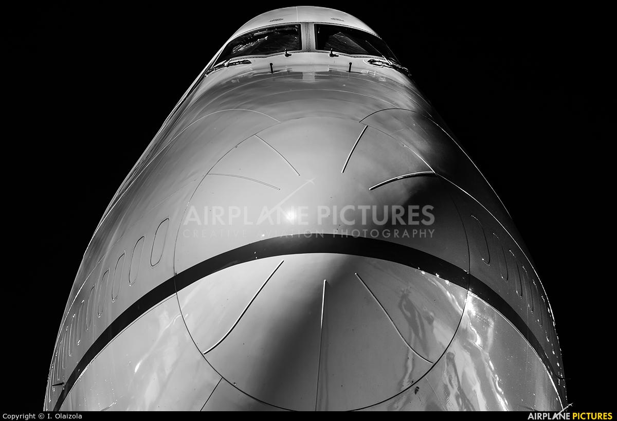 Saudi Arabian Cargo TF-AMI aircraft at Zaragoza