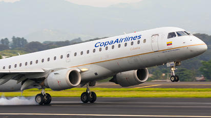 HK-4454 - Copa Airlines Colombia Embraer ERJ-190 (190-100)