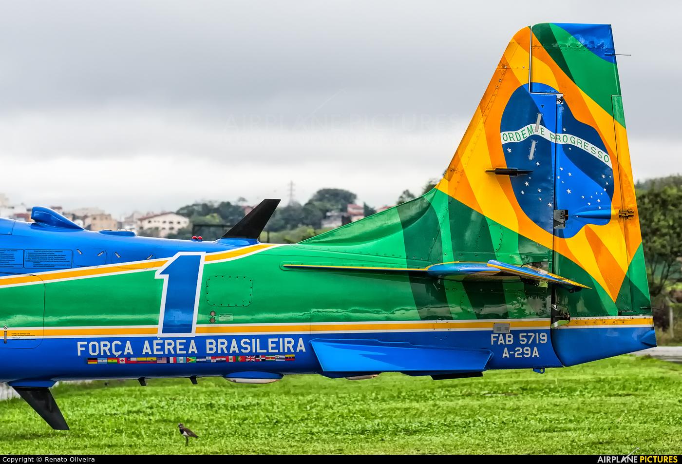 """Brazil - Air Force """"Esquadrilha da Fumaça"""" FAB5719 aircraft at São Paulo - Campo de Marte"""
