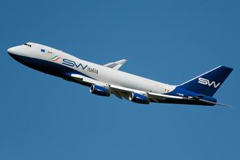 I-SWIB - Silk Way Italia Boeing 747-400F, ERF