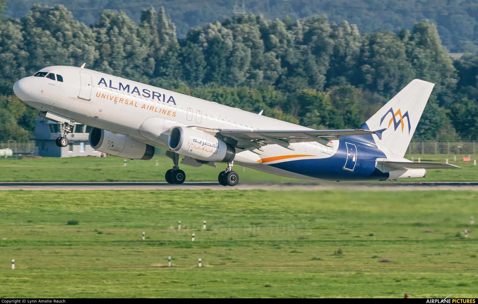 Al Masria SU-TCE aircraft at Düsseldorf
