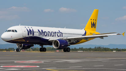 G-ZBAU - Monarch Airlines Airbus A320