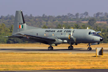 H-2184 - India - Air Force Hawker Siddeley HS.748