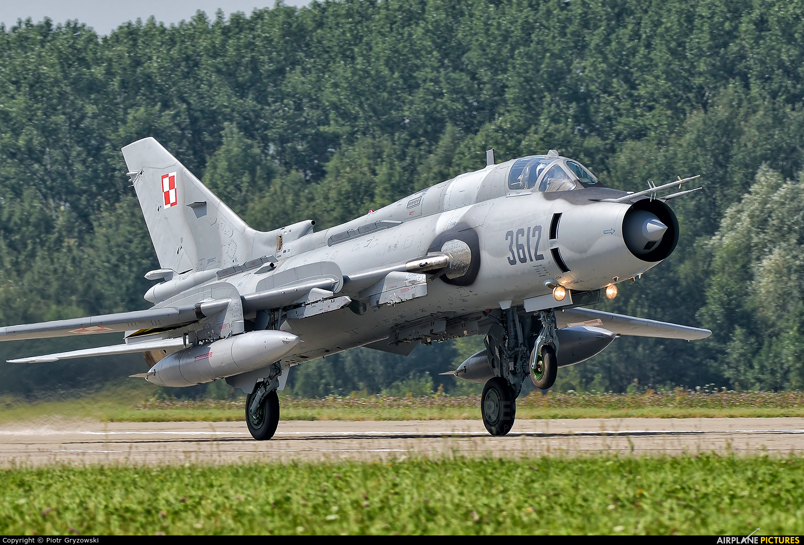 Poland - Air Force 3612 aircraft at Mińsk Mazowiecki