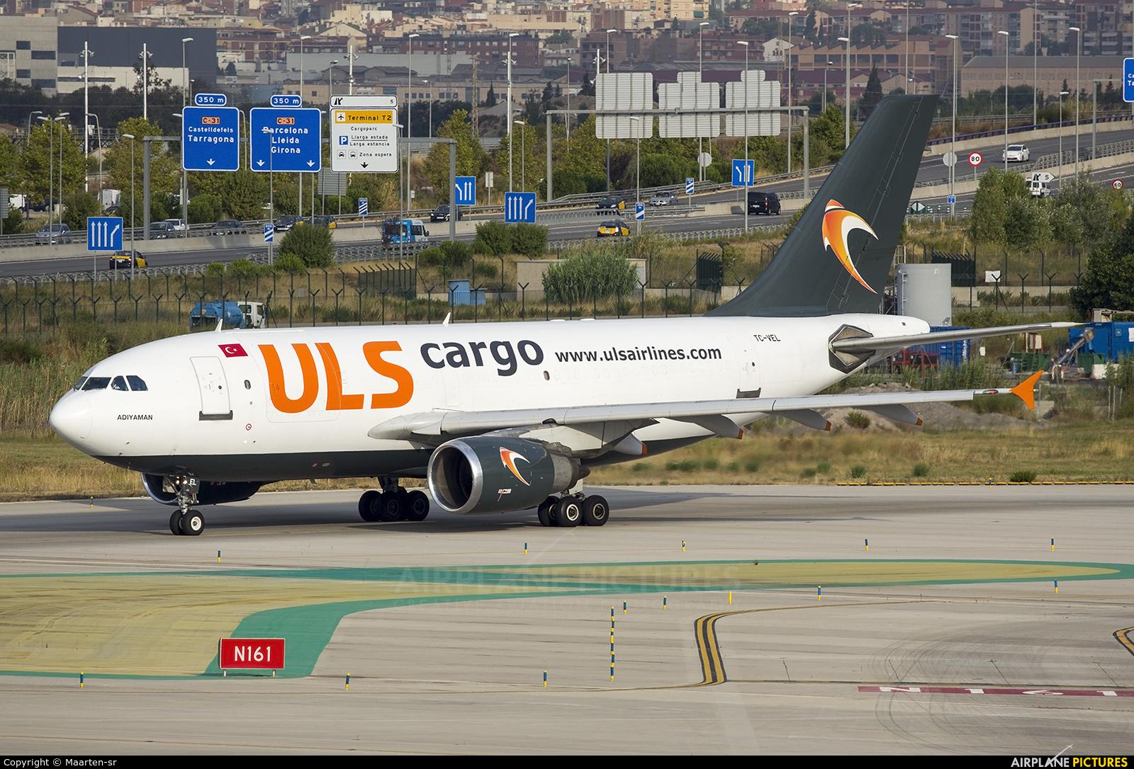 ULS Cargo TC-VEL aircraft at Barcelona - El Prat