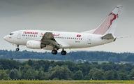 TS-IOQ - Tunisair Boeing 737-600 aircraft