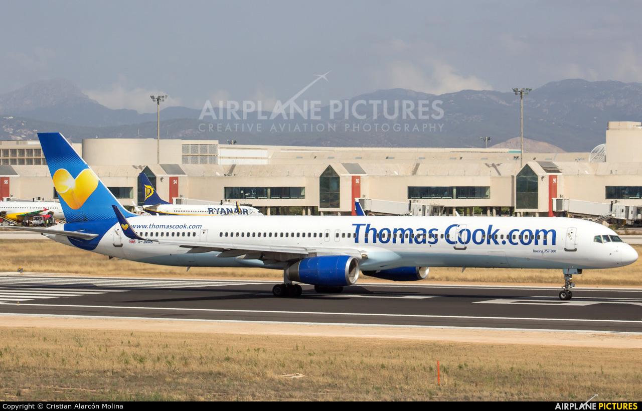 Thomas Cook G-JMAB aircraft at Palma de Mallorca