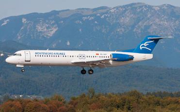 4O-AOP - Montenegro Airlines Fokker 100