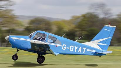 G-GYAT - Rochester GYAT Flying Group Club Gardan GY-80 Horizon