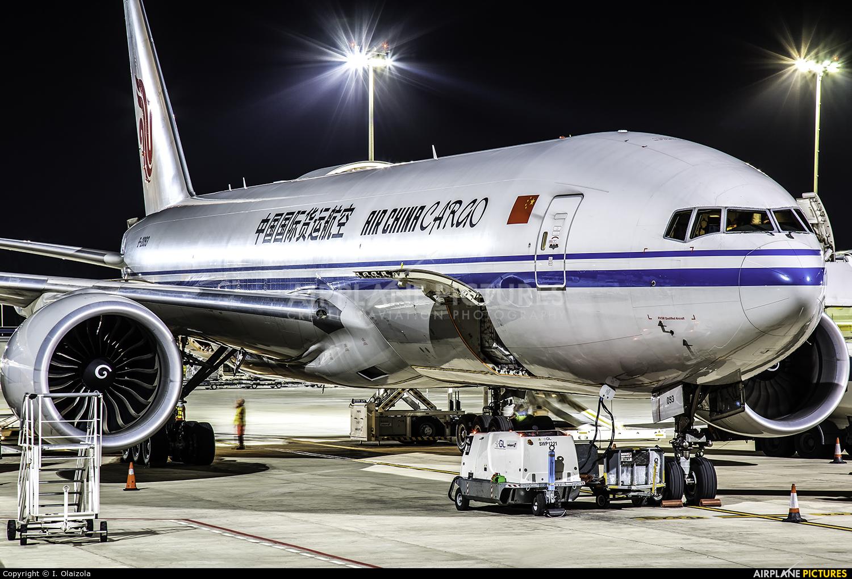 Air China Cargo B-2093 aircraft at Zaragoza