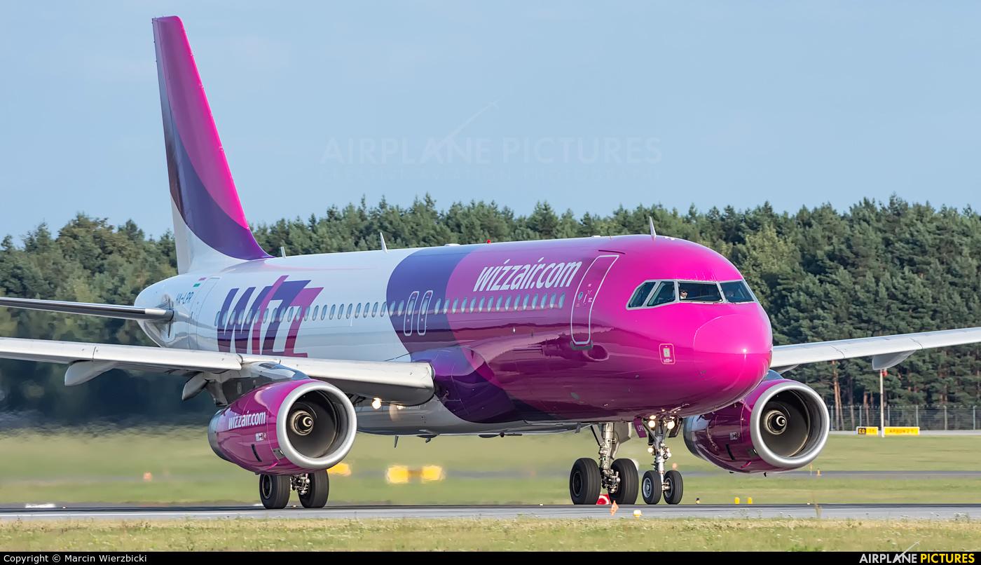 Wizz Air HA-LPR aircraft at Katowice - Pyrzowice