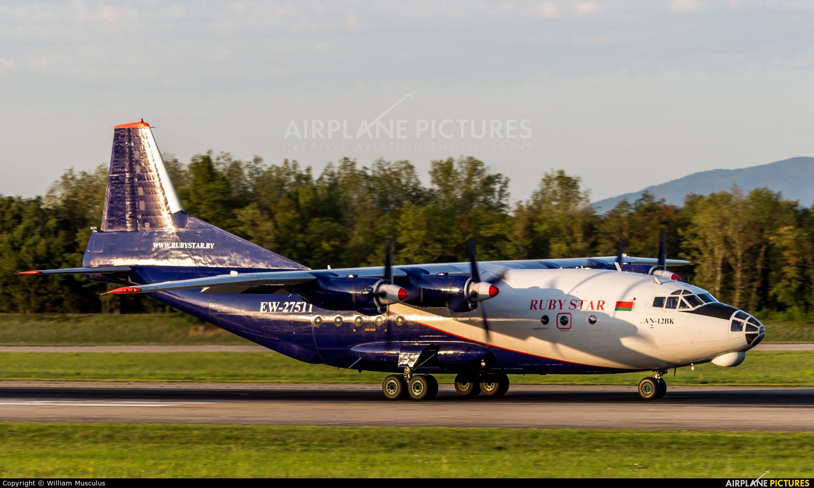 Ruby Star Air Enterprise EW-275TI aircraft at Basel - Mulhouse- Euro