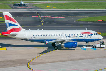 G-EUPU - British Airways Airbus A319