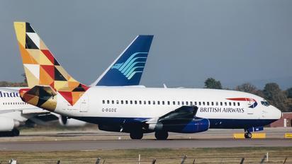 G-BGDE - British Airways Boeing 737-200