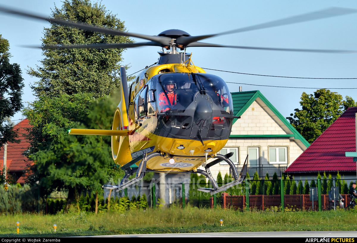 Polish Medical Air Rescue - Lotnicze Pogotowie Ratunkowe SP-DXD aircraft at Siemiatycze Hospital