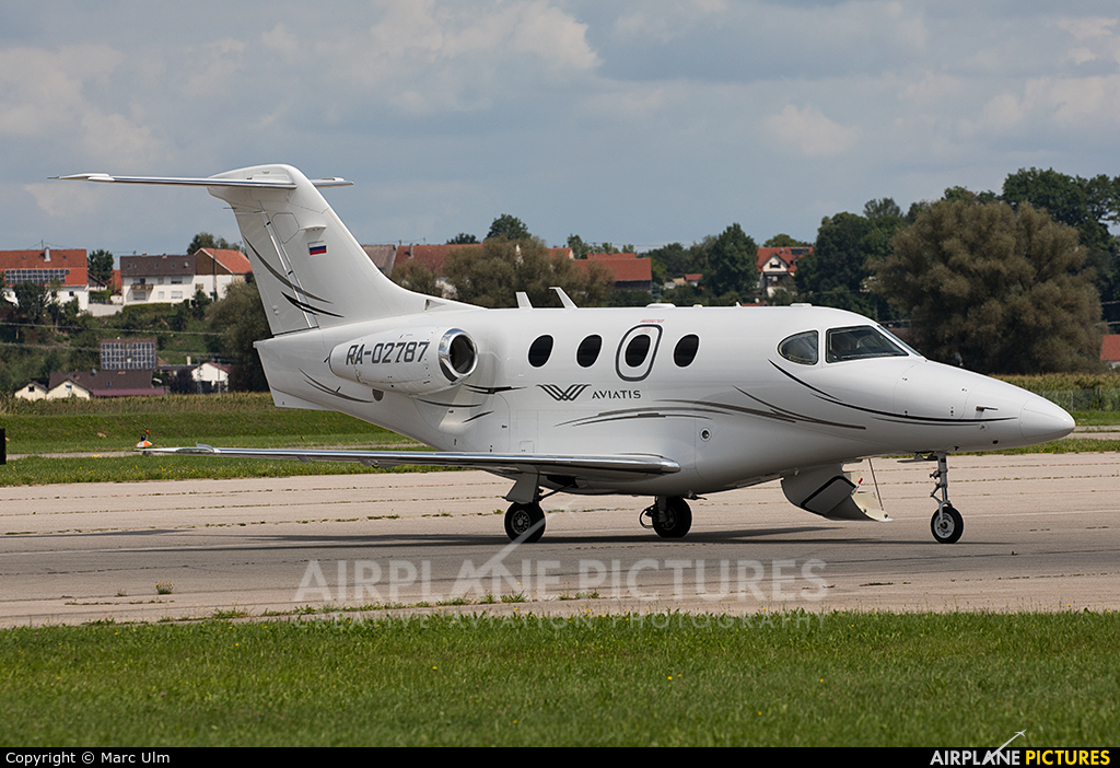 Private RA-02787 aircraft at Augsburg