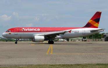 N980AV - Avianca Airbus A320