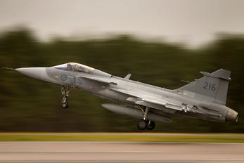 39216 - Sweden - Air Force SAAB JAS 39C Gripen