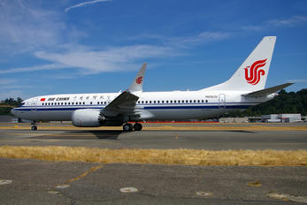N6063S - Air China Boeing 737-8 MAX