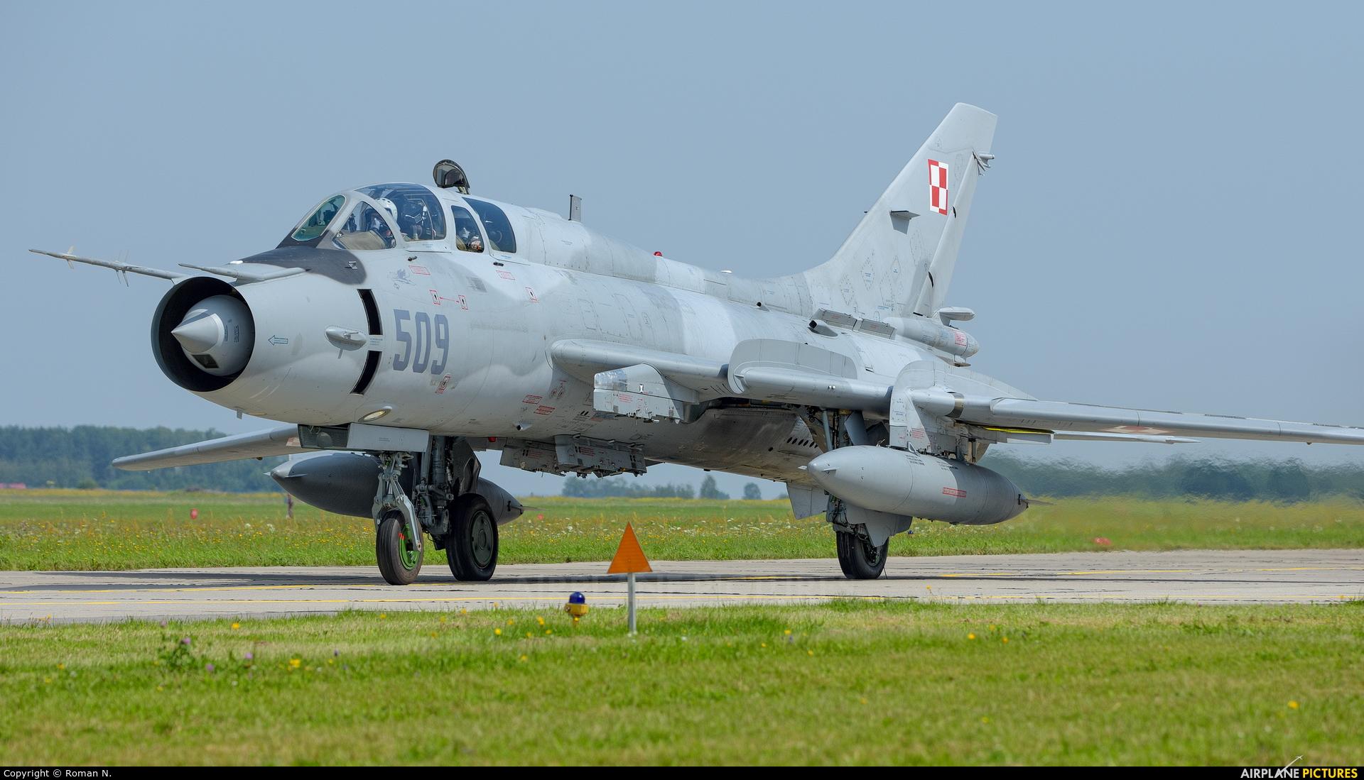 Poland - Air Force 509 aircraft at Mińsk Mazowiecki