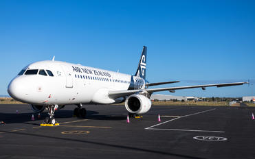 ZK-OJM - Air New Zealand Airbus A320