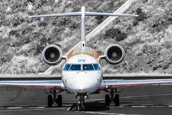 EC-LOX - Air Nostrum - Iberia Regional Canadair CL-600 CRJ-1000
