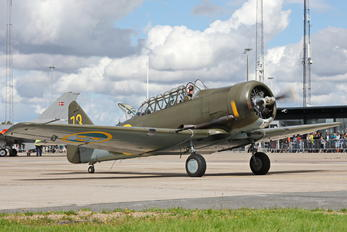 SE-FVU - Swedish Air Force Historic Flight North American Harvard/Texan (AT-6, 16, SNJ series)