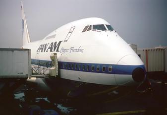 N531PA - Pan Am Boeing 747SP