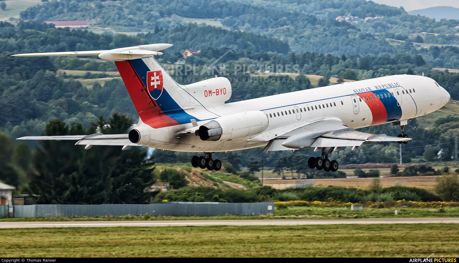 Slovakia - Government OM-BYO aircraft at Sliač