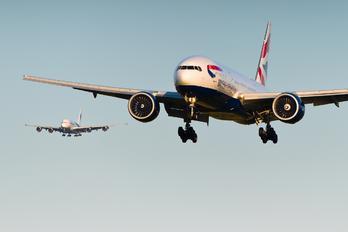 G-VIIB - British Airways Boeing 777-200
