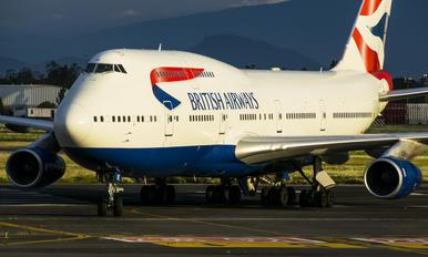 G-CIVE - British Airways Boeing 747-400