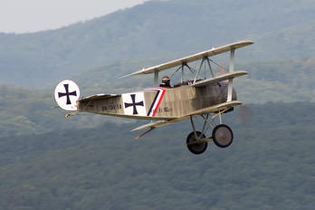 OK-TAV 58 - Private Fokker DR.1 Triplane (replica)
