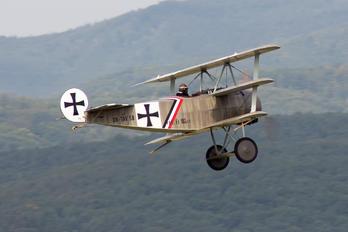 OK-TAV 58 - Private Fokker DR.1 Triplane (replica)
