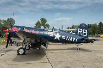 OE-AES - Red Bull Vought F4U Corsair