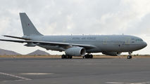 Rare visit of RAF A330 Voyager to Amilcar Cabral title=