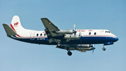 G-AOYG - British Air Ferries  BAF Vickers Viscount