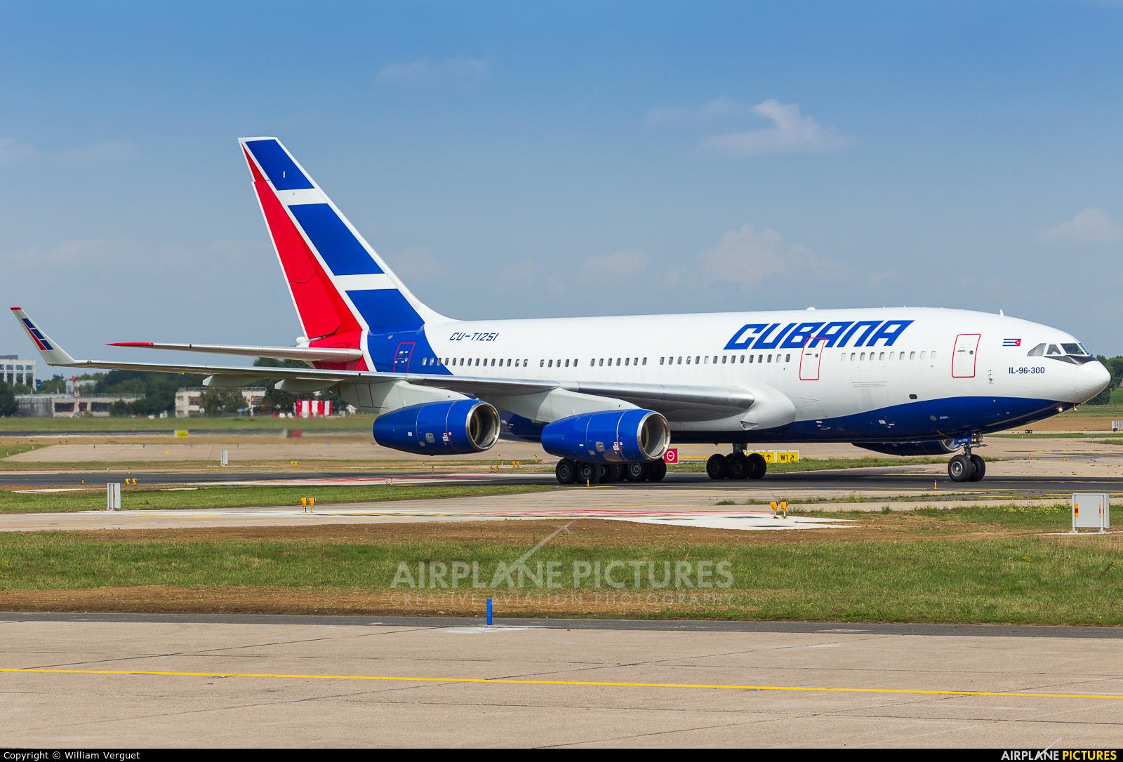 Cubana CU-T1251 aircraft at Paris - Orly