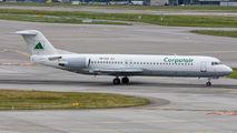 YR-FKB - Carpatair Fokker 100 aircraft