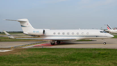 OE-LUC - Global Jet Austria Gulfstream Aerospace G650, G650ER