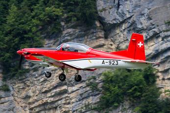 A-923 - Switzerland - Air Force: PC-7 Team Pilatus PC-7 I & II