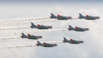 "040 - Poland - Air Force ""Orlik Acrobatic Group"" PZL 130 Orlik TC-1 / 2"