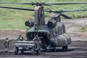 JG−2984 - Japan - Ground Self Defense Force Kawasaki CH-47J Chinook aircraft
