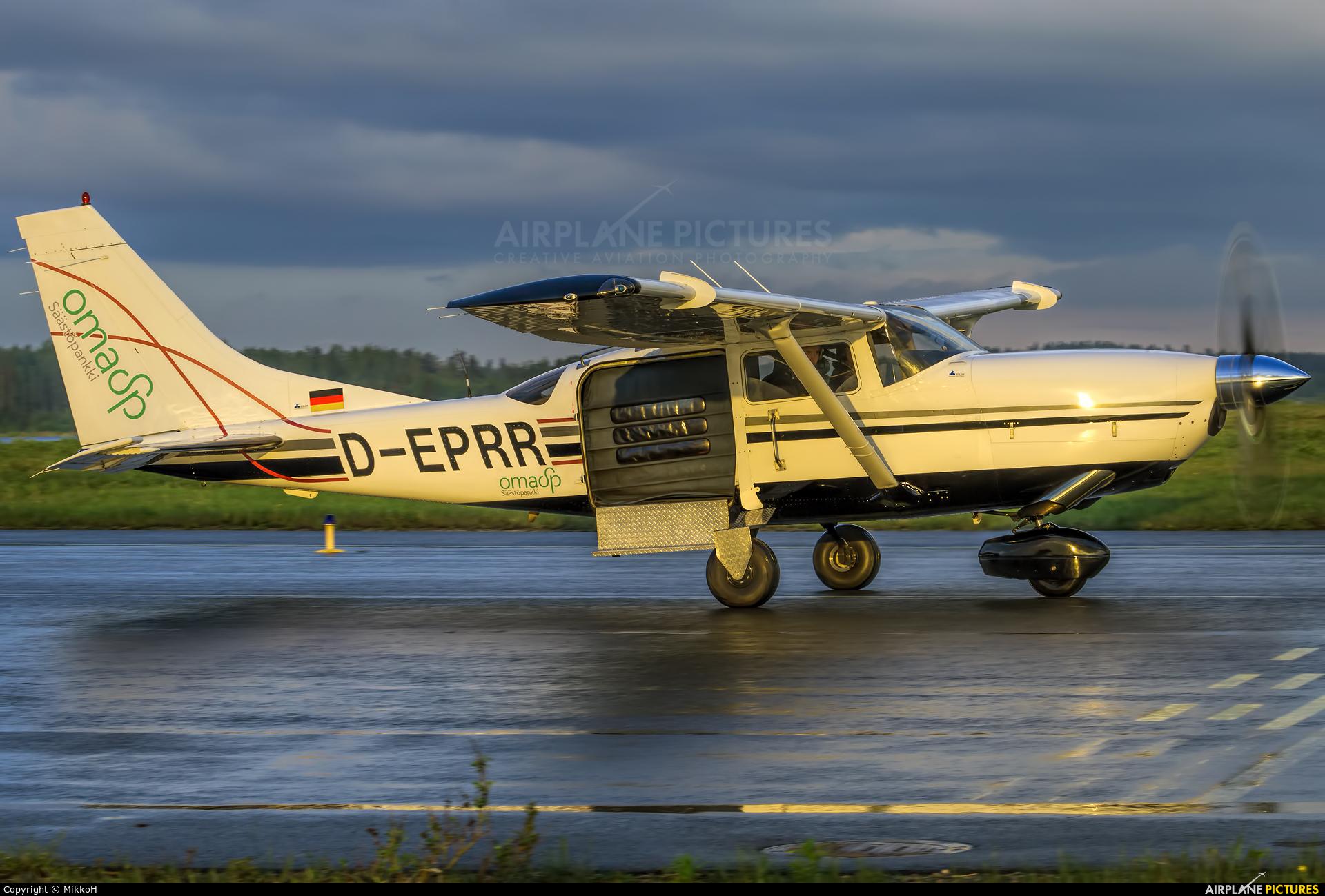 Alavuden Ilmailukerho D-EPRR aircraft at Seinäjoki Airport