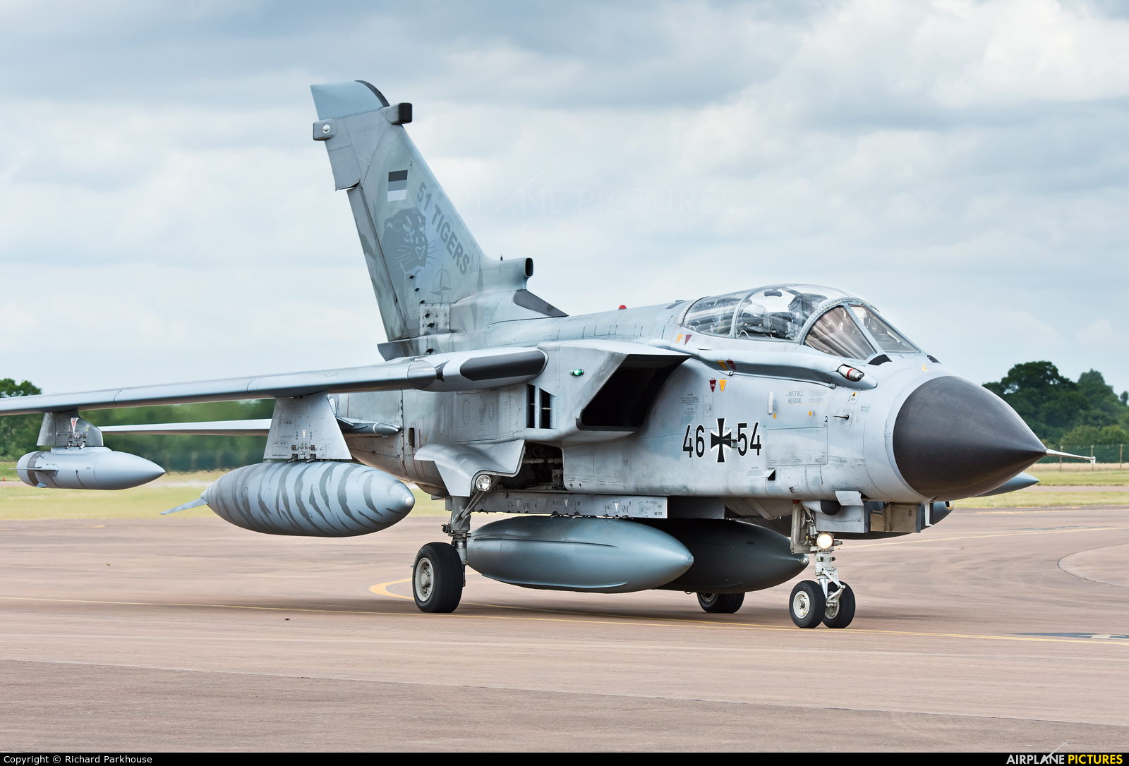 Germany - Air Force 46+54 aircraft at Fairford