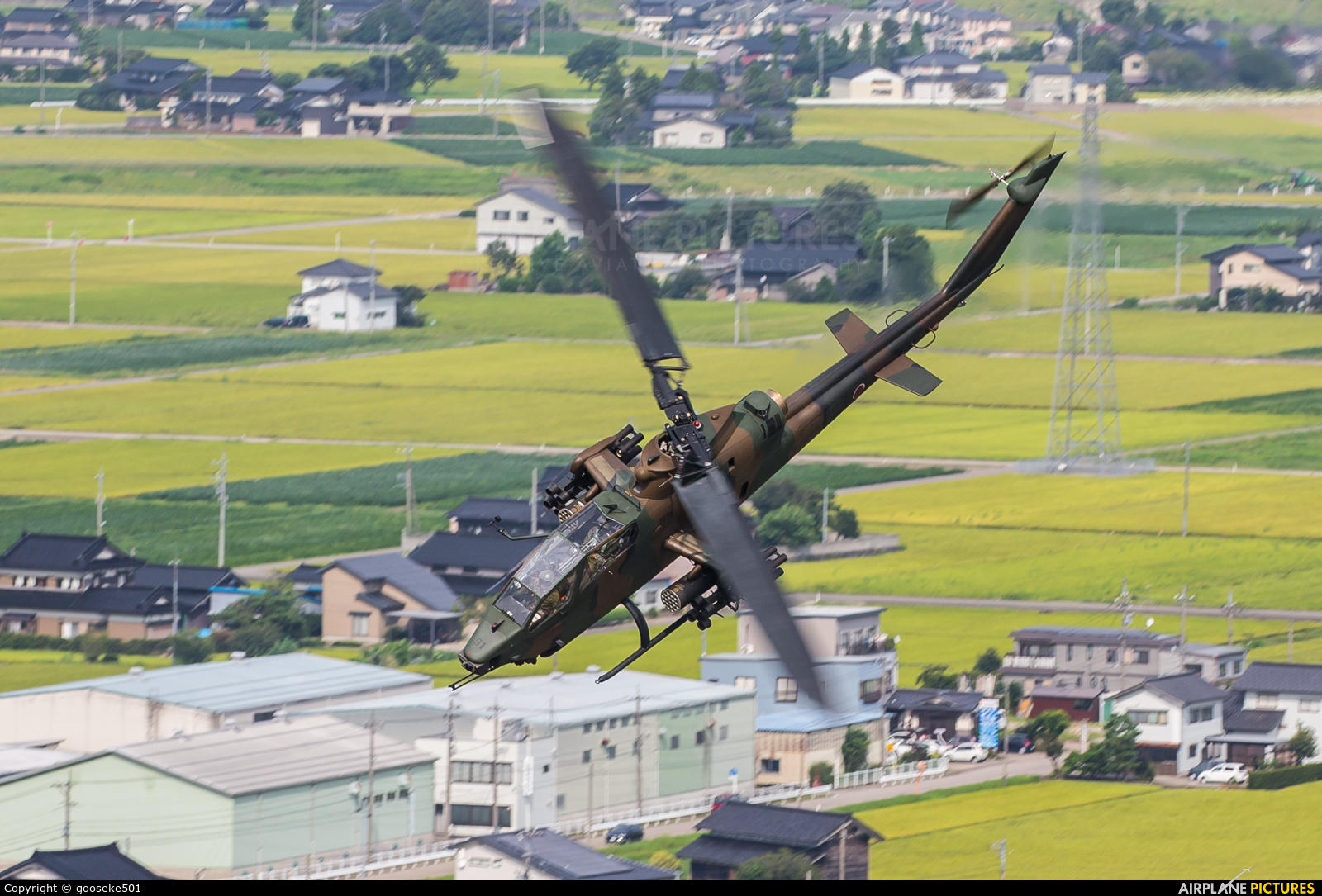 Japan - Ground Self Defense Force JG-3491 aircraft at