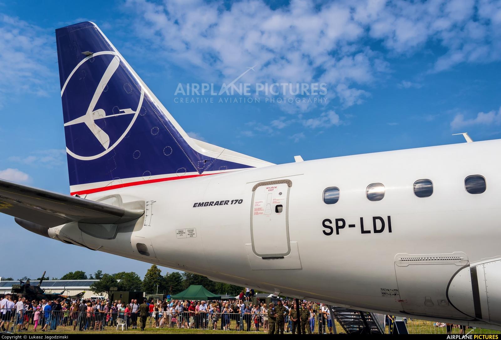 LOT - Polish Airlines SP-LDI aircraft at Radom - Sadków