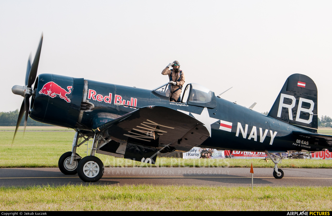 The Flying Bulls OE-EAS aircraft at Radom - Sadków